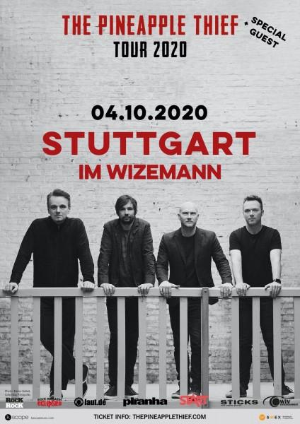 04.10.2020 - Stuttgart - Im Wizemann - THE PINEAPPLE THIEF