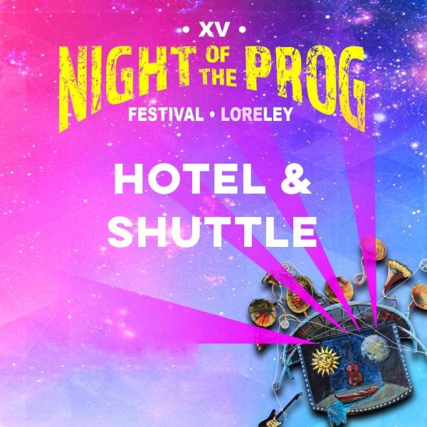 Sleeping: Hotel & Shuttle (Double/Twin Room) - NOTP XV