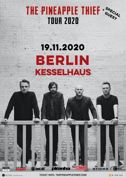 19.11.2020 - Berlin - Kesselhaus - THE PINEAPPLE THIEF