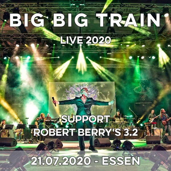 21.07.2020 - Essen - Lichtburg - BIG BIG TRAIN