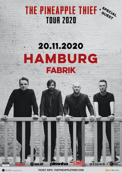 20.11.2020 - Hamburg - Fabrik - THE PINEAPPLE THIEF