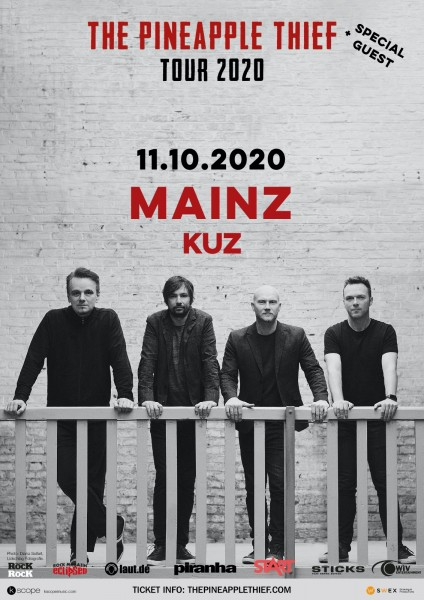 11.10.2020 - Mainz - KUZ - THE PINEAPPLE THIEF