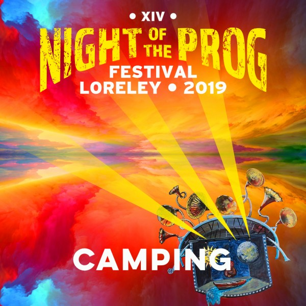 Sleeping: Campingticket - NOTP XIV