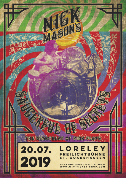 Nick Mason's Saucerful of Secrets - Loreley, 20.07.2019